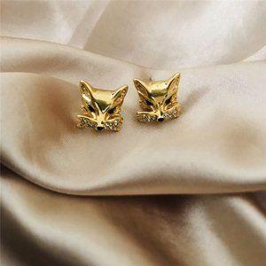 Kate Spade Golden Little Fox Earrings